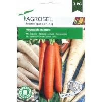 Семена на лента зеленчуков микс (Пащърнак, Моркови, Магданоз коренов)