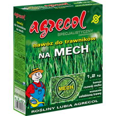 Agrecol - Тор за тревни площи против мъх - 1,2 кг.