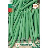 Фасул Сакса - зелен, кръгъл, нисък