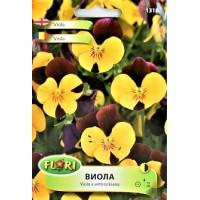 Семена за Виола (Теменужка) - жълто с черно