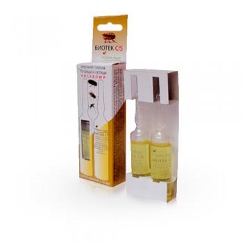 Биотек - ампули против пълзящи и летящи насекоми - 2x10 ml.