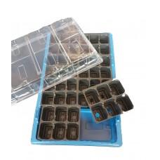 Мини оранжерия 48 гнезда с капак
